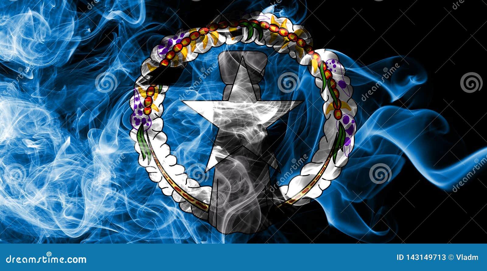Bandera septentrional del humo de Mariana Islands, bandera dependiente del territorio de Estados Unidos
