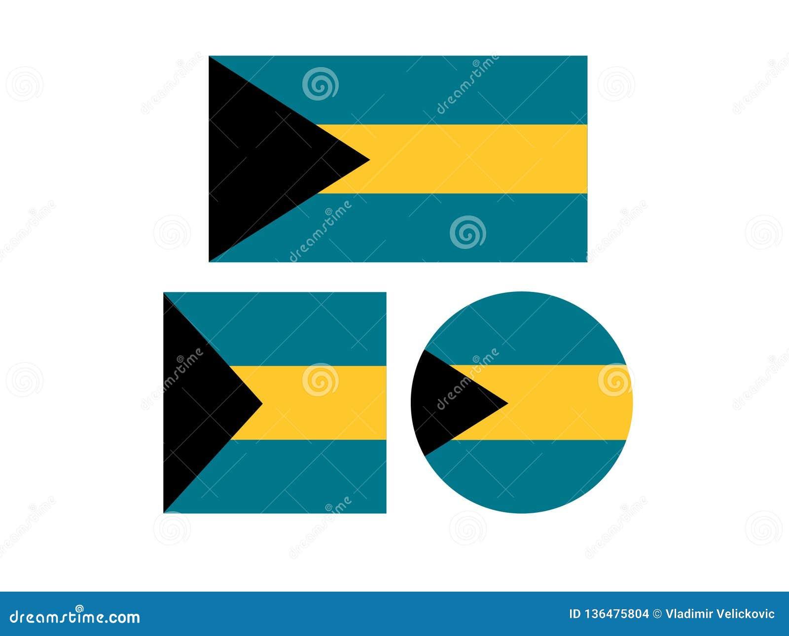Banderas de Bahamas - Commonwealth de las Bahamas