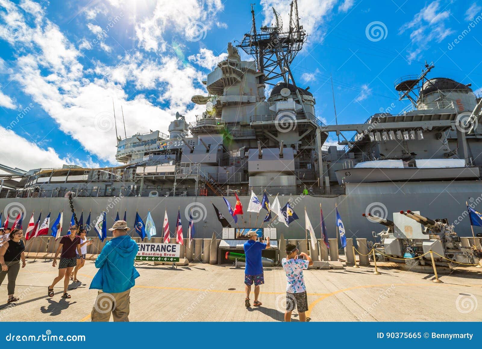 Banderas de USS Missouri