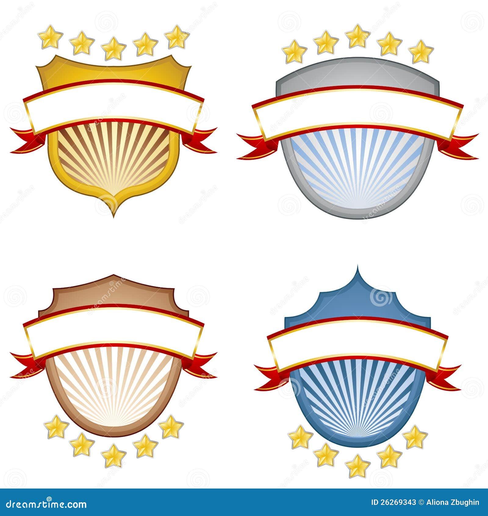 Banderas del blindaje