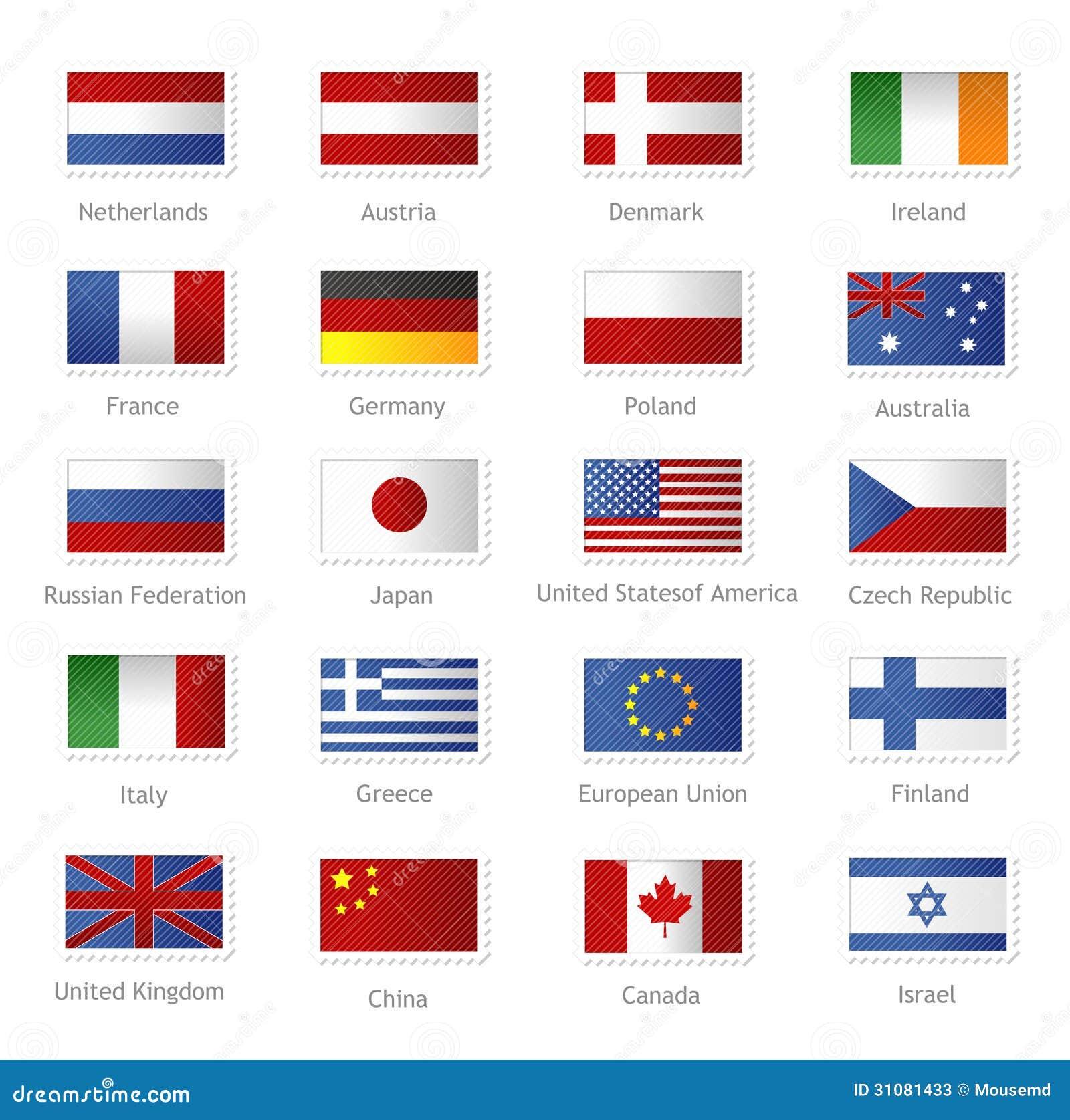 Banderas del mundo - Fotos banera ...