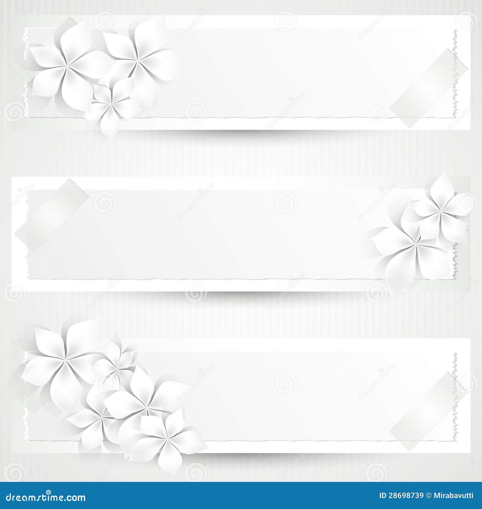 Banderas florales