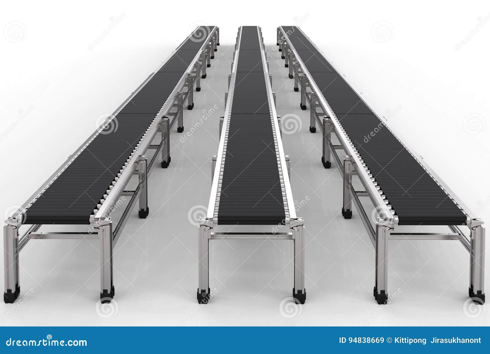 Bandes de conveyeur en caoutchouc