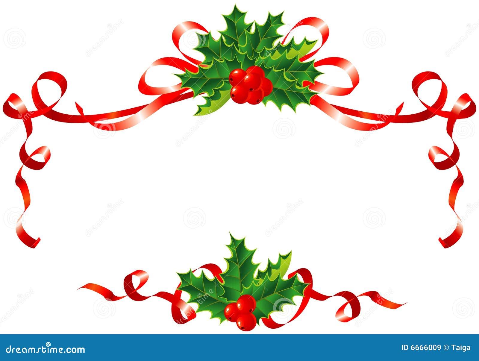 Decoration Houx De Noel