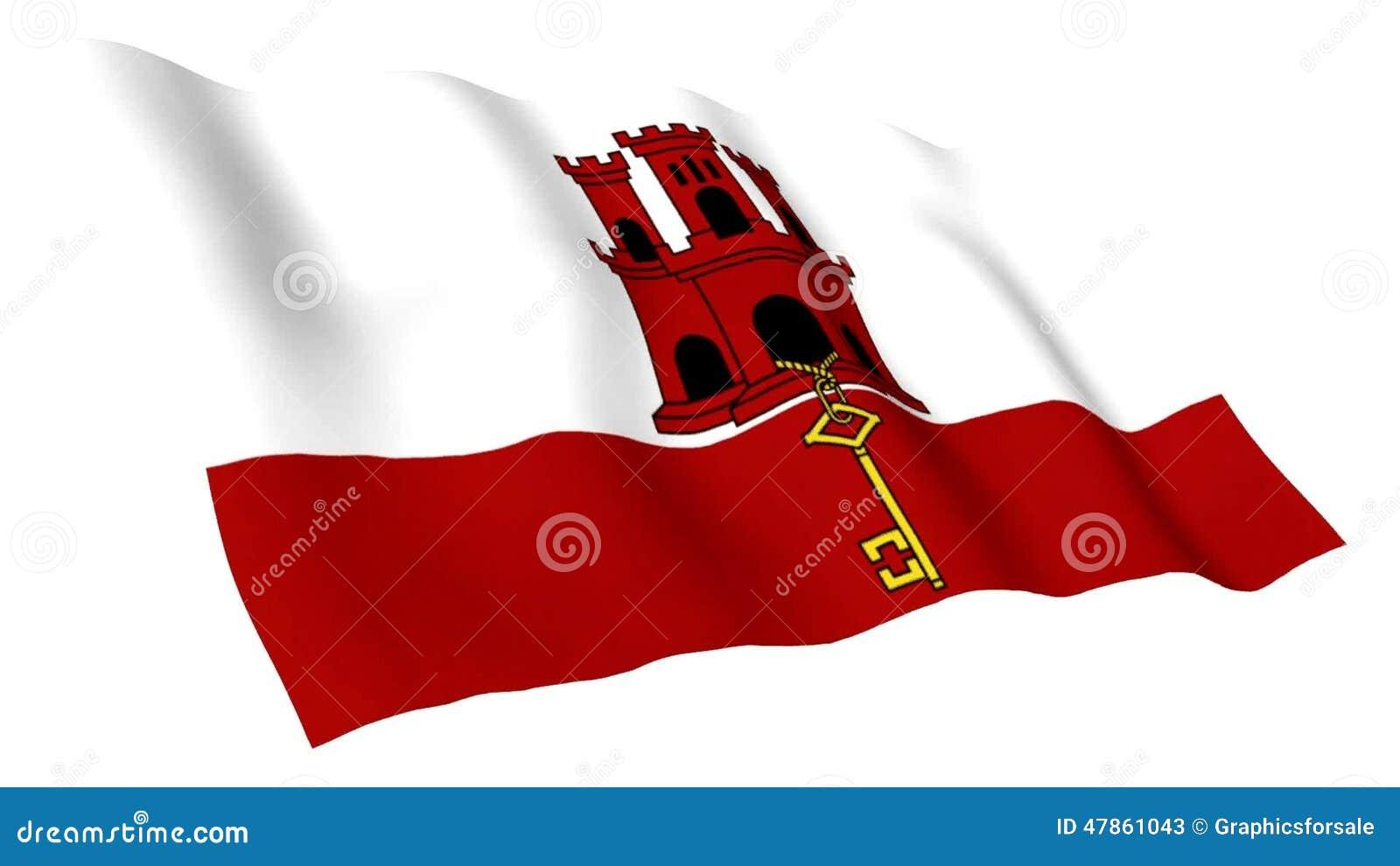 Bandiera Animata Di Gibilterra Archivi Video Video Di Chiamata