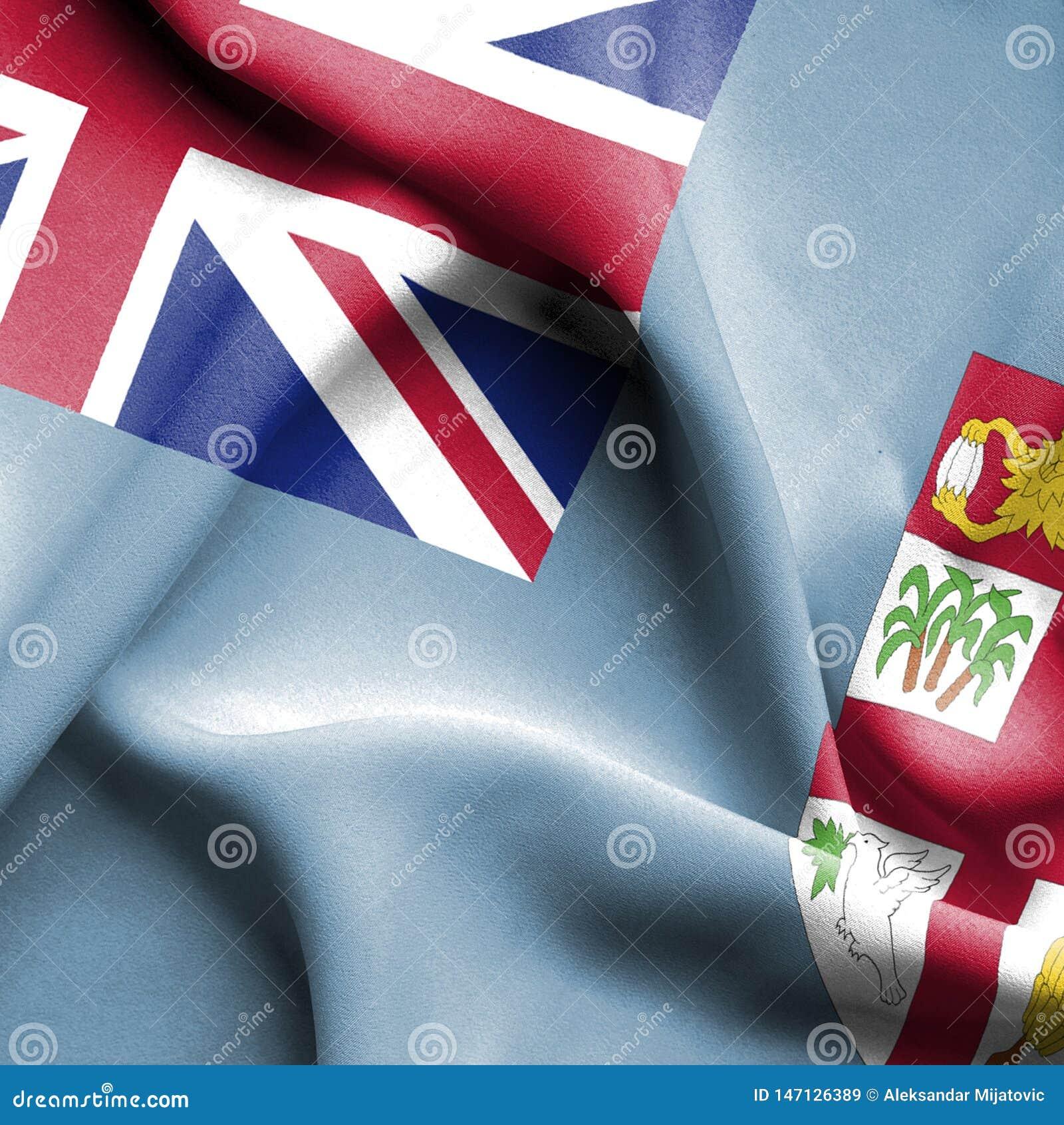 Bandiera d ondeggiamento di Figi