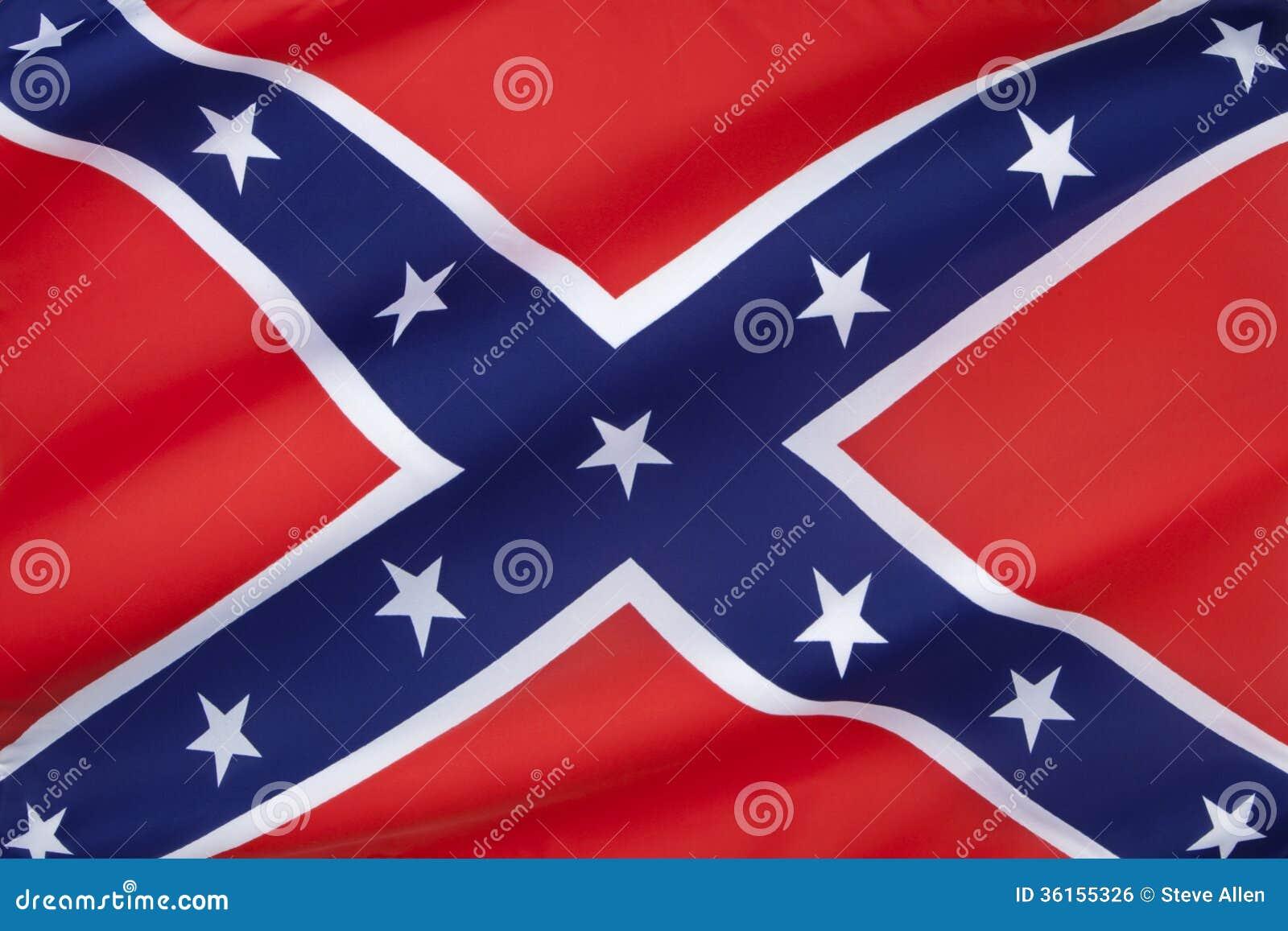 Bandiera degli stati dell 39 america confederati fotografia for Casa di piantagioni del sud