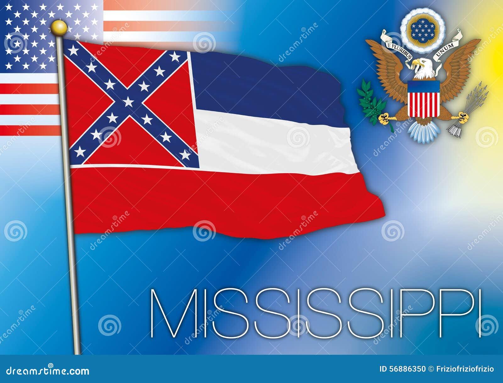 Bandiera del Mississippi, stato USA