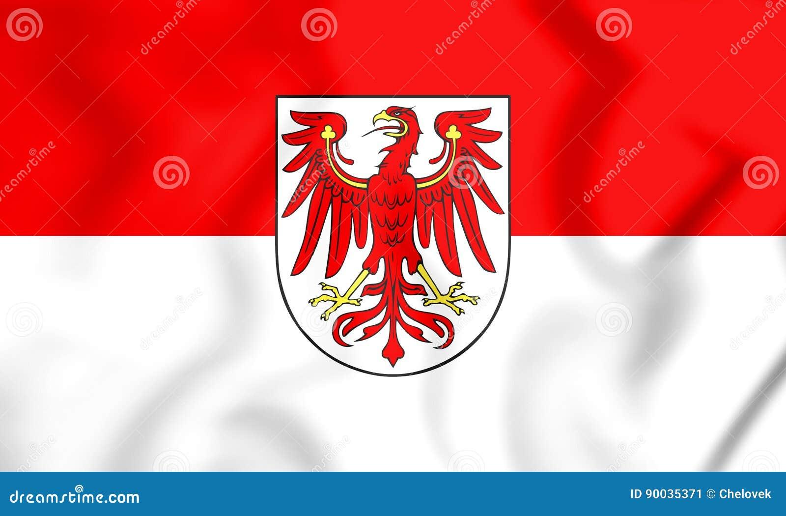 Bandiera della terra di brandeburgo germania - Bandiera della pagina di colorazione della germania ...