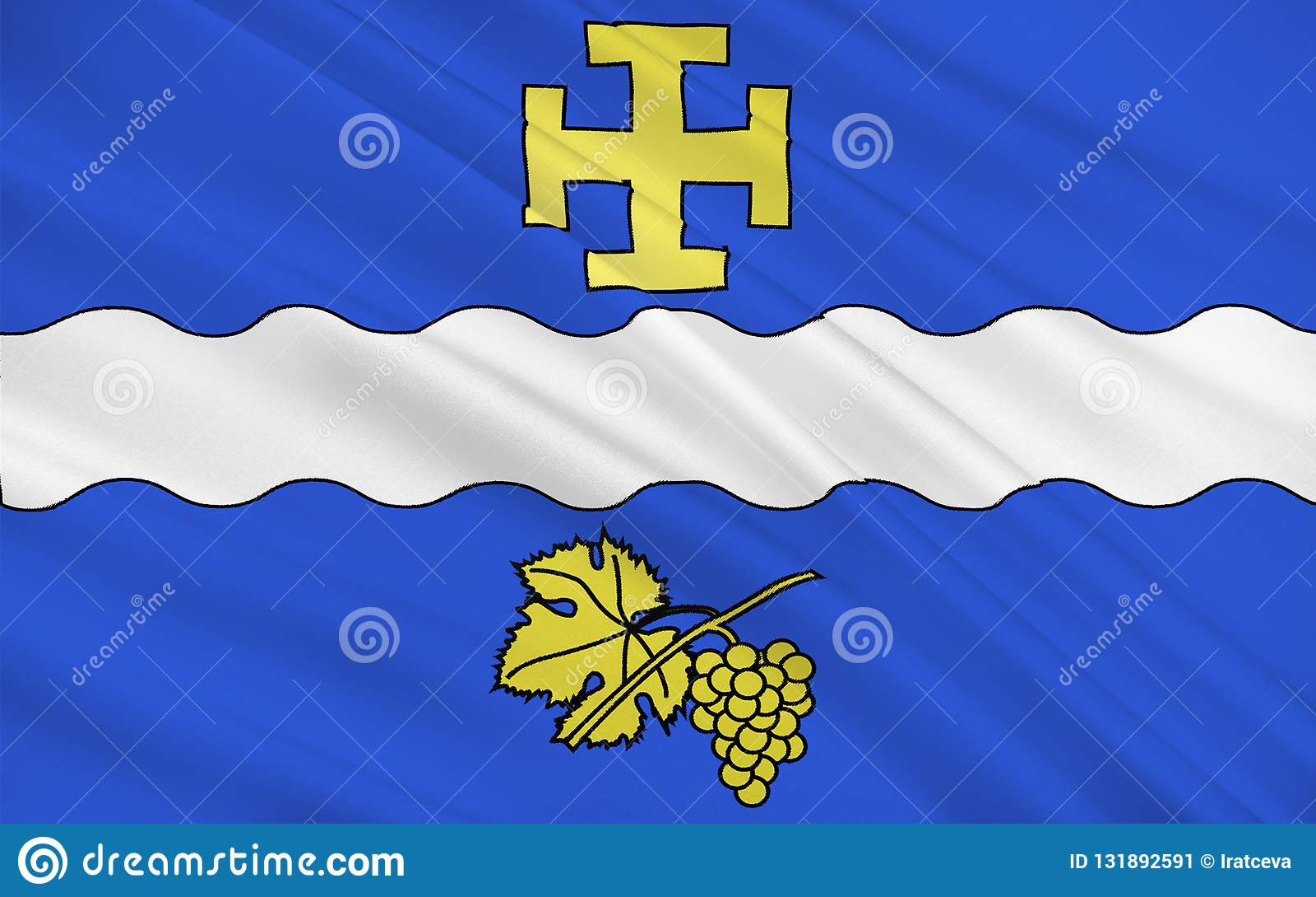 Bandiera di Creteil, Francia