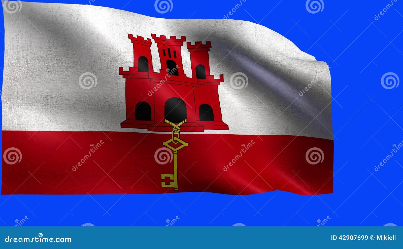 Bandiera Di Gibilterra Ciclo Archivi Video Video Di Alettone