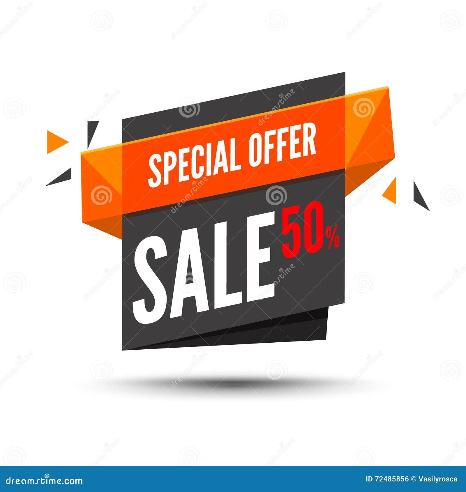 Bandiera di vendita Fondo di vendita Grande modifica di vendita Manifesto moderno Offerta speciale 50 per cento fuori Illustrazio