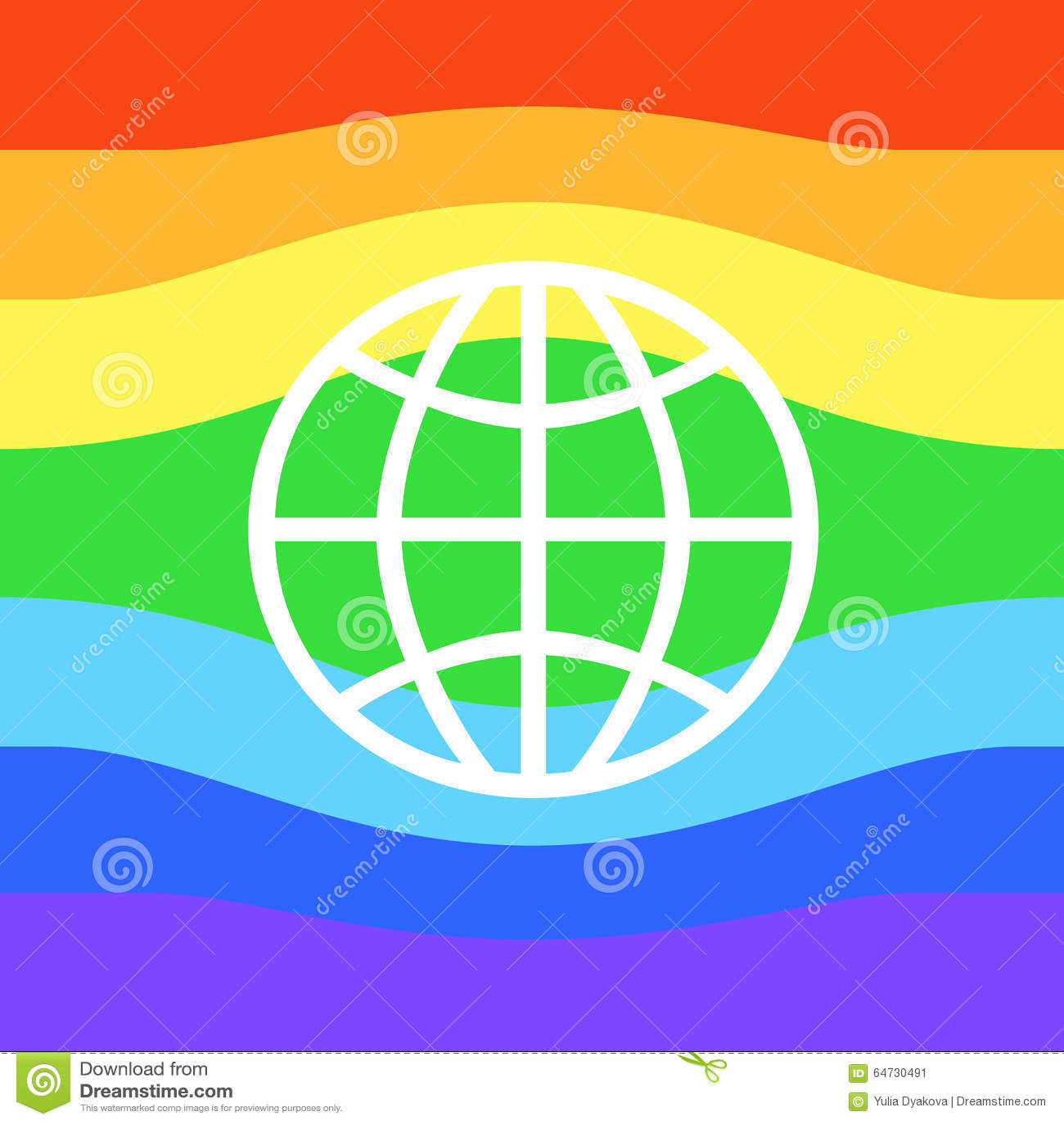 Bandiera gay o bandiera di LGBT