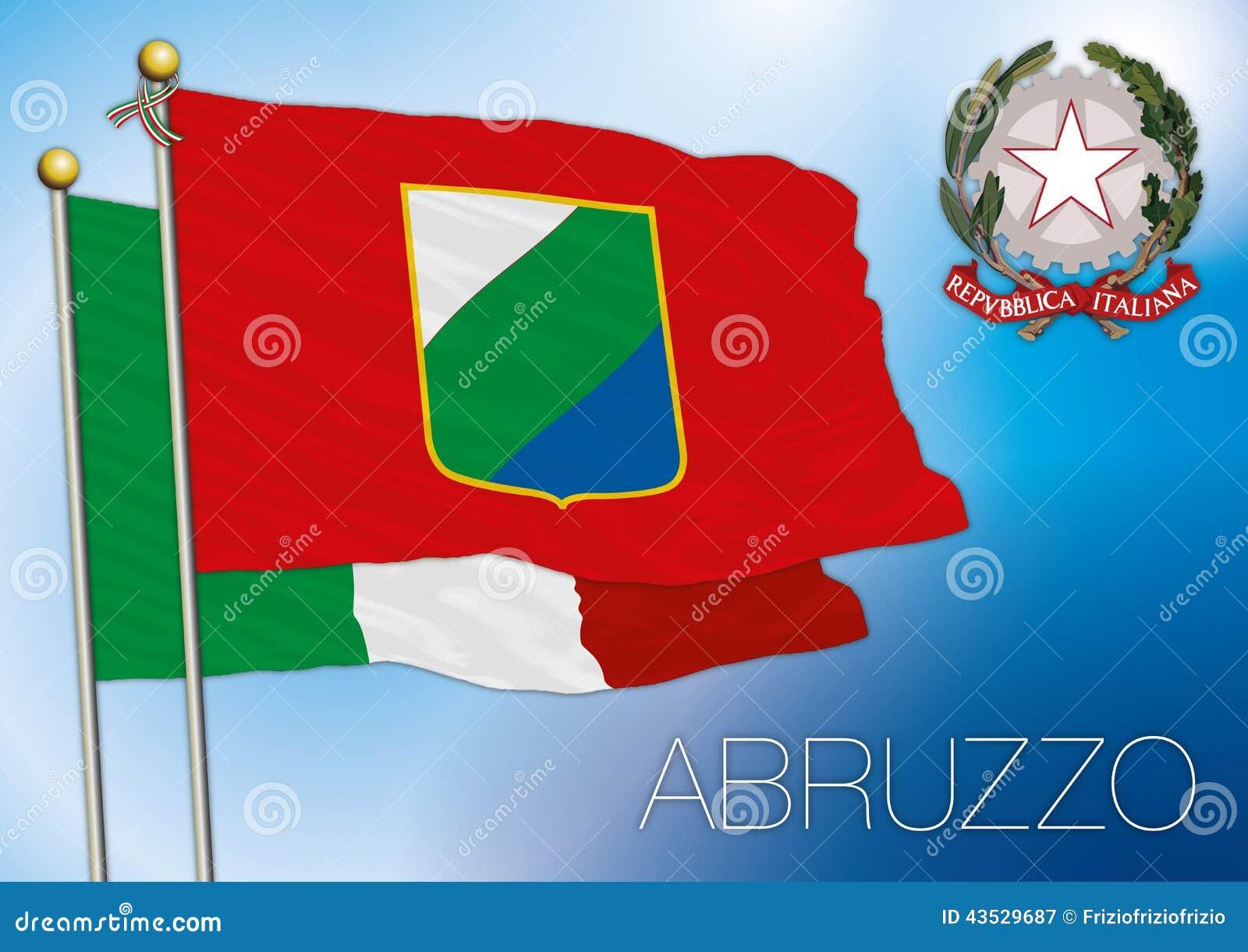 la bandiera abruzzo