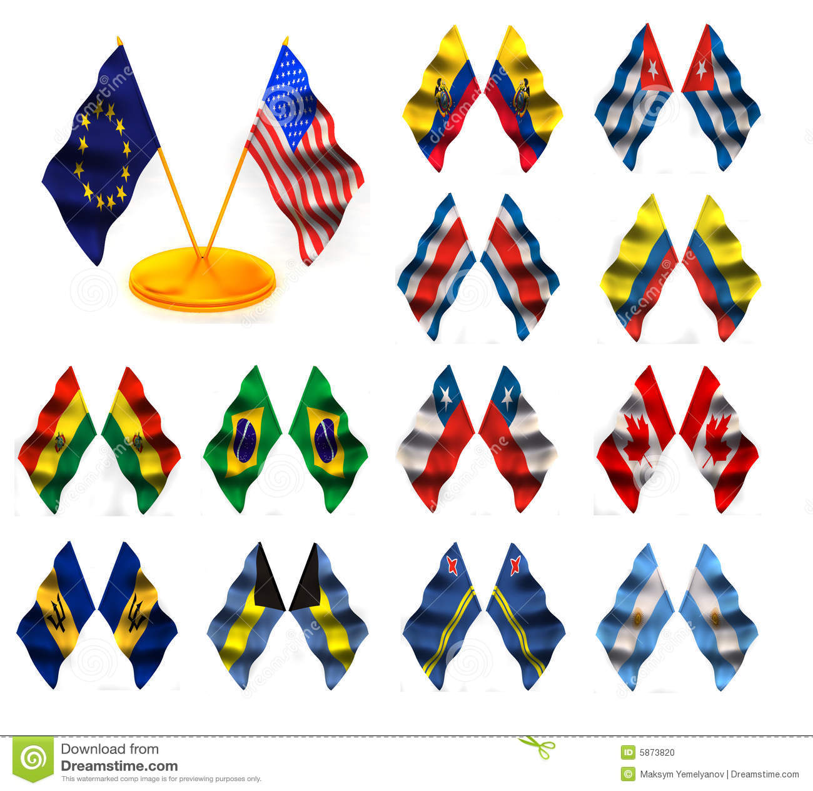 Bandiere americane 1
