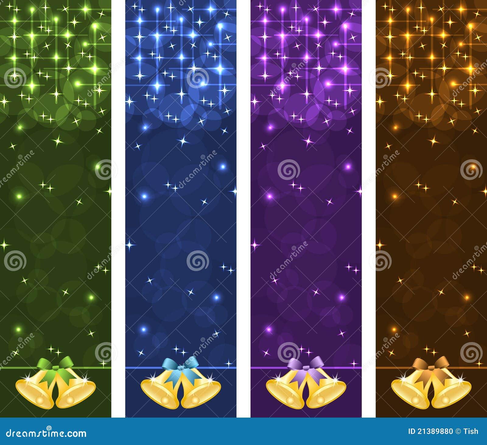 Bandiere di natale verticali illustrazione vettoriale for Opzioni di rivestimenti verticali
