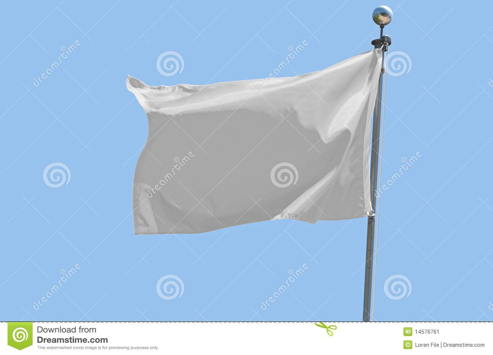 Bandierina bianca