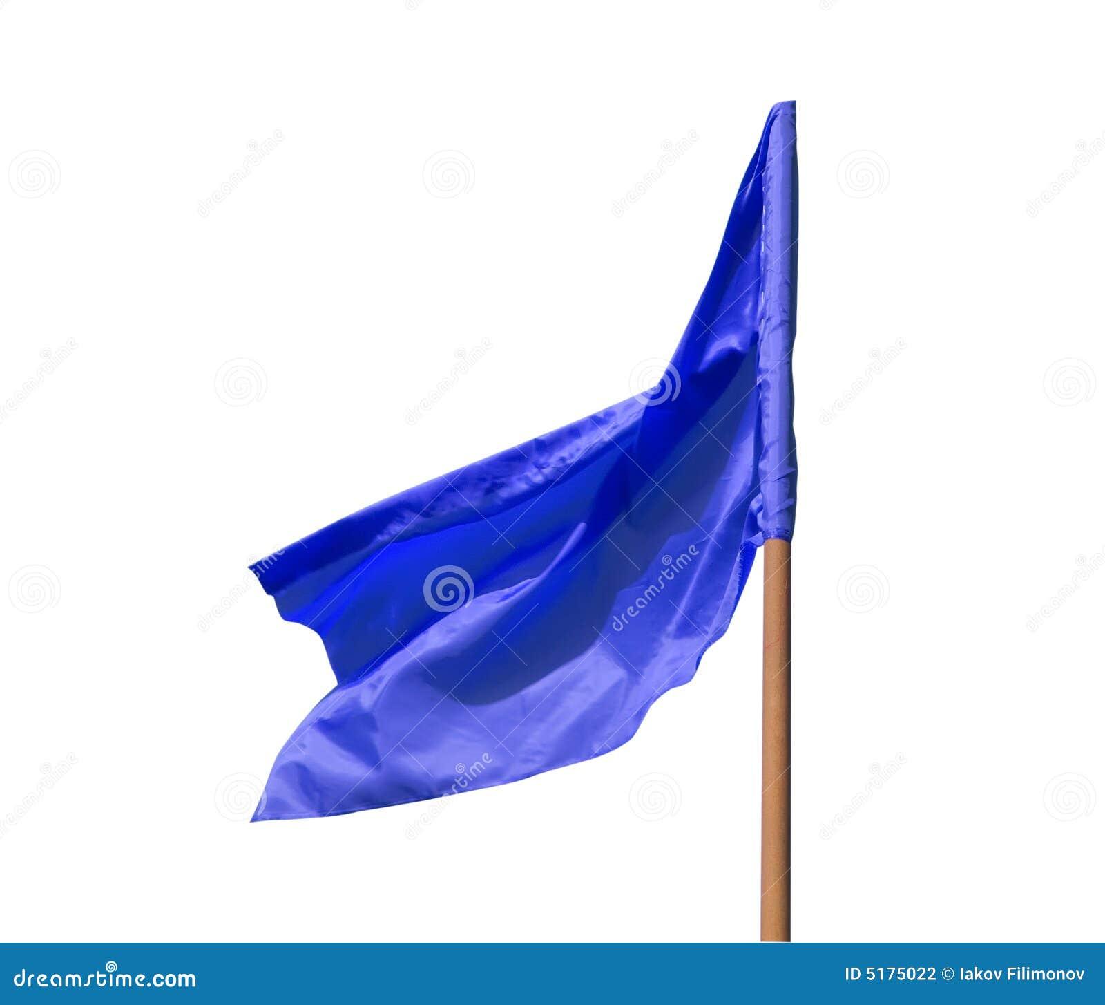 Bandierina blu