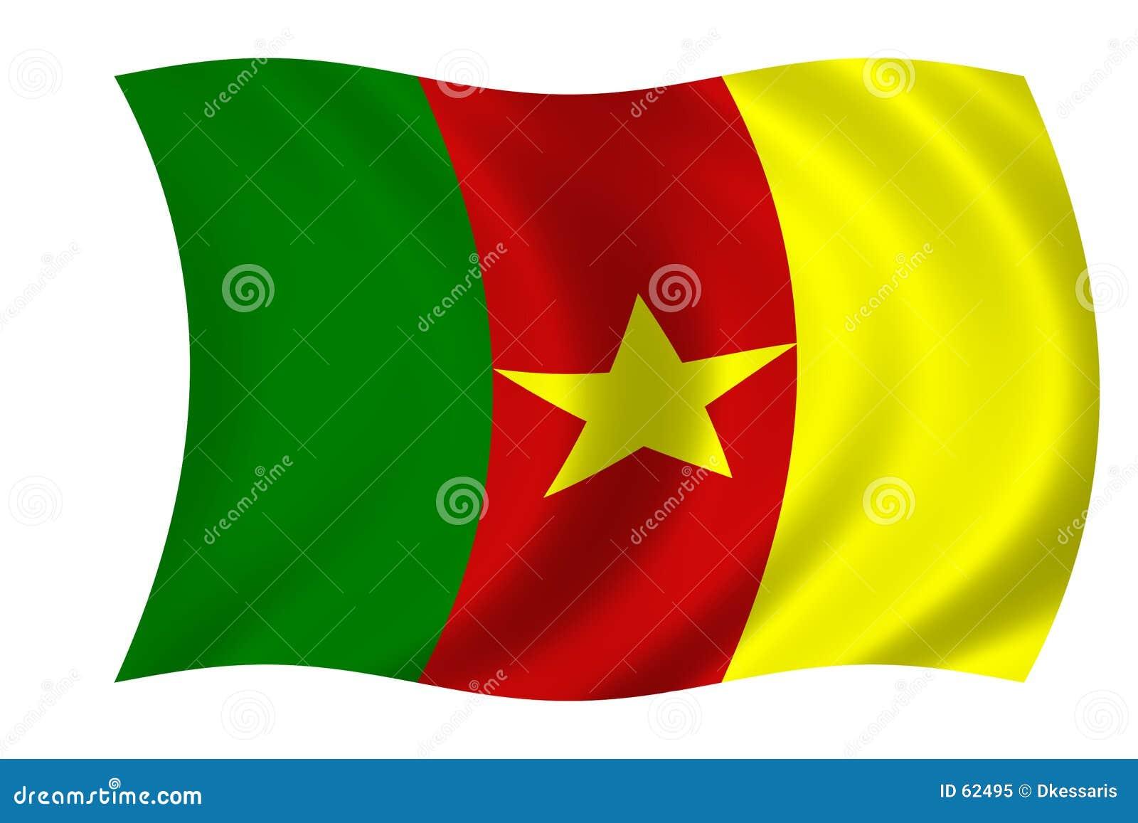 Bandierina del Cameroun