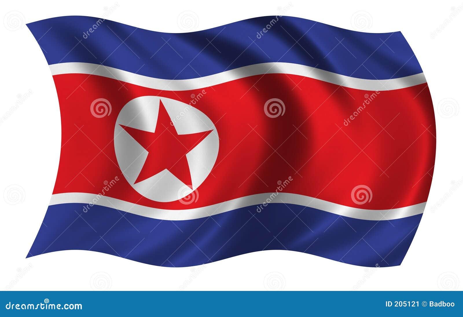 Bandierina del Korea di Nord