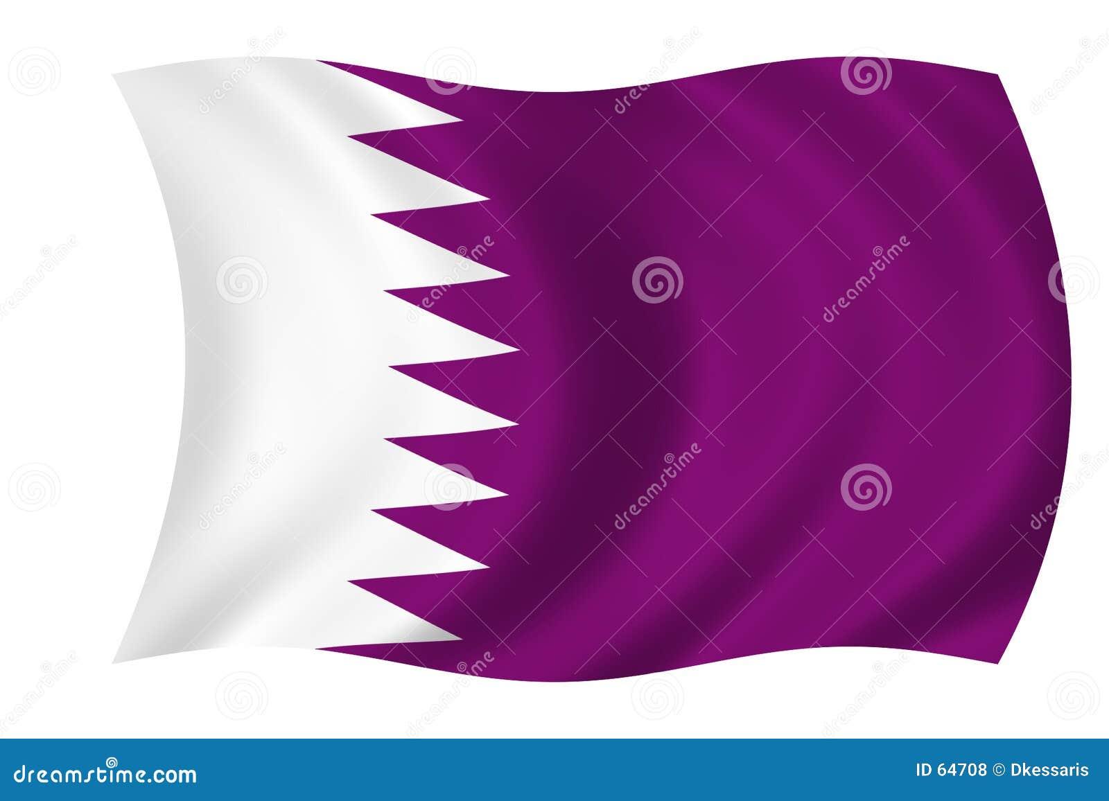 Bandierina del Qatar