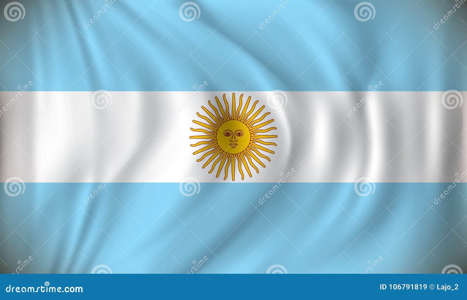 Bandierina dell Argentina