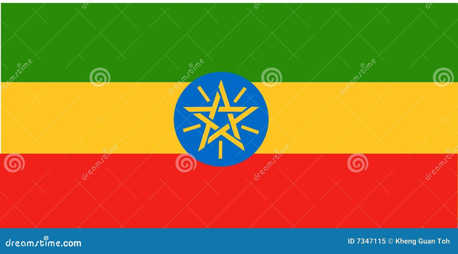 Bandierina dell Etiopia