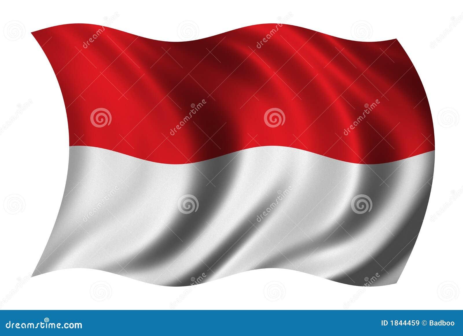Bandierina dell Indonesia