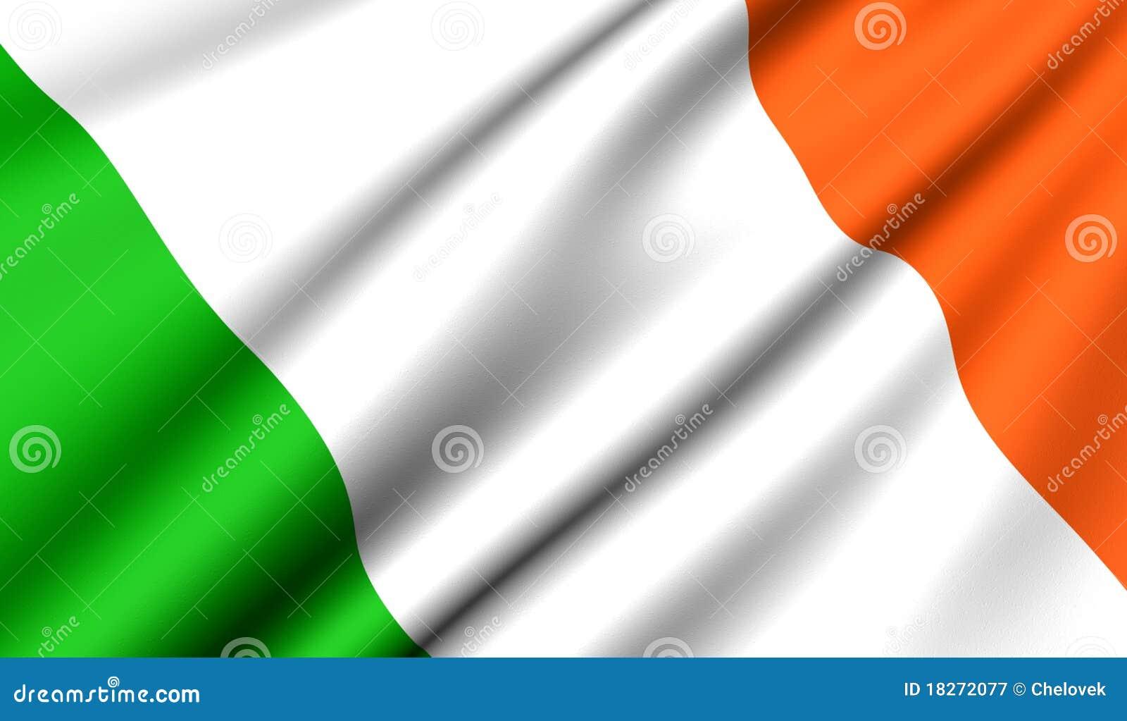 Bandierina dell Irlanda