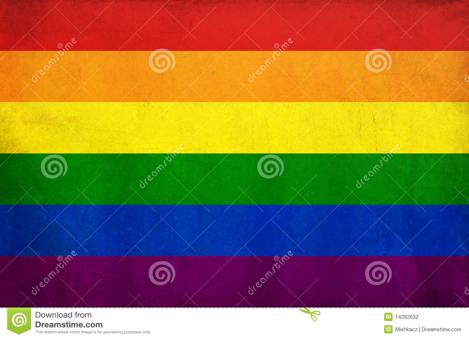 Bandierina dell omosessuale del Rainbow