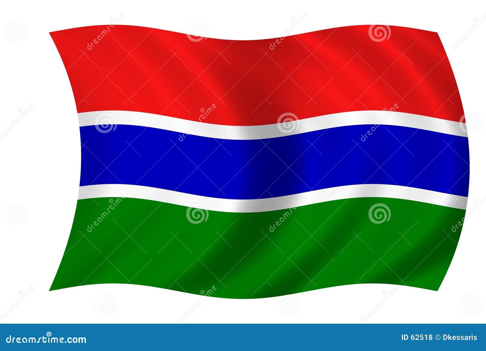 Bandierina della Gambia