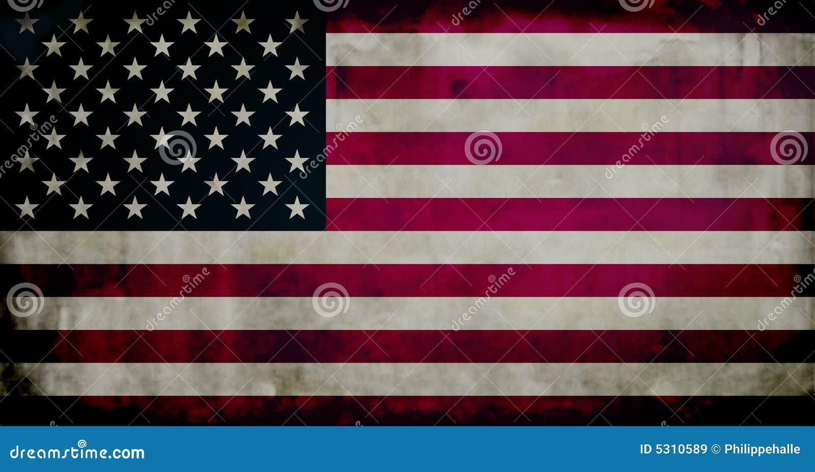 Download Bandierina Di Grunge Stati Uniti Illustrazione di Stock - Illustrazione di giù, weathered: 5310589