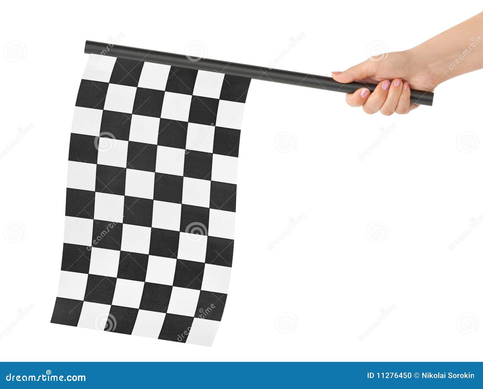 Bandierina finale Checkered