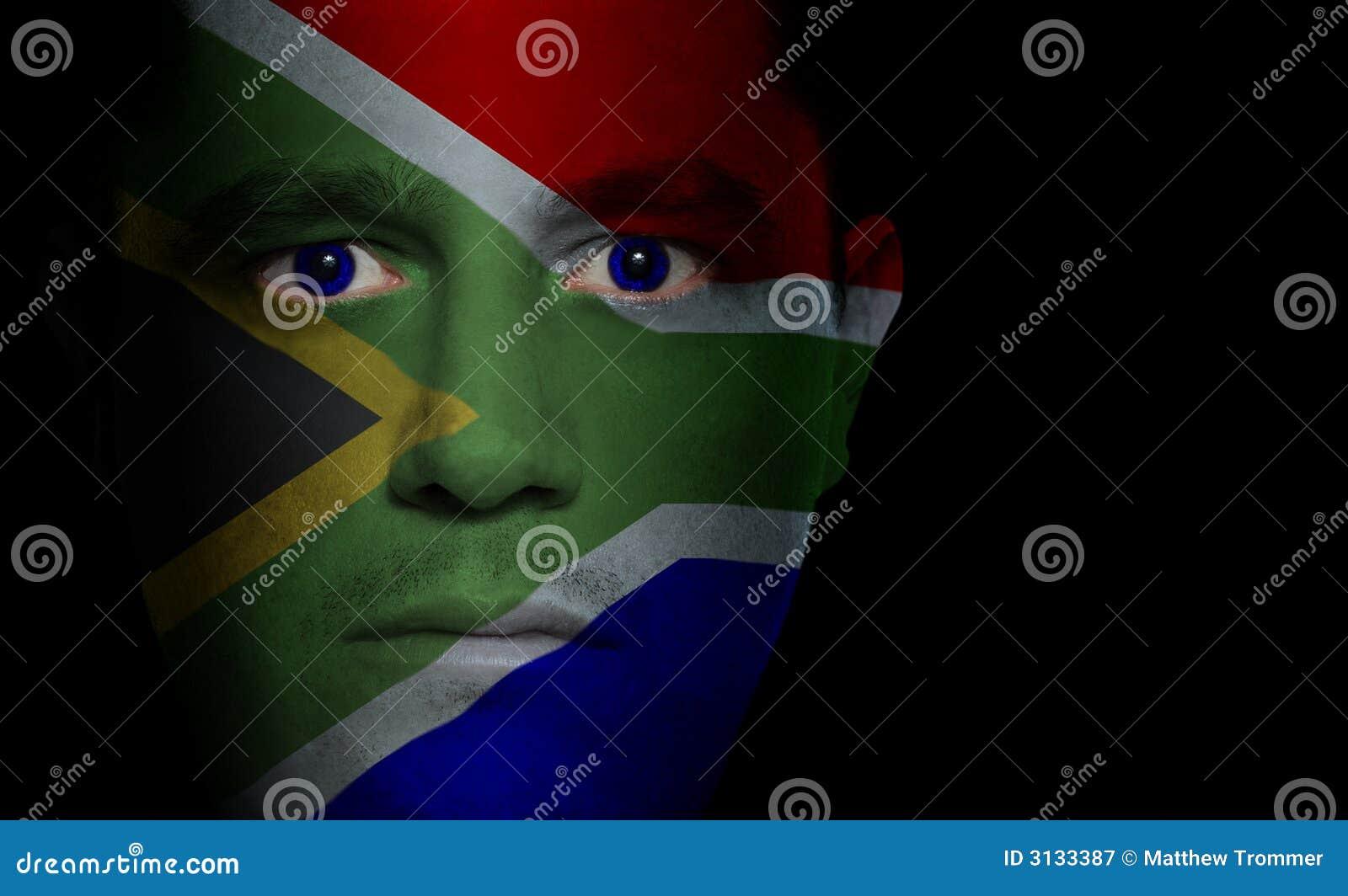 Bandierina sudafricana - fronte maschio