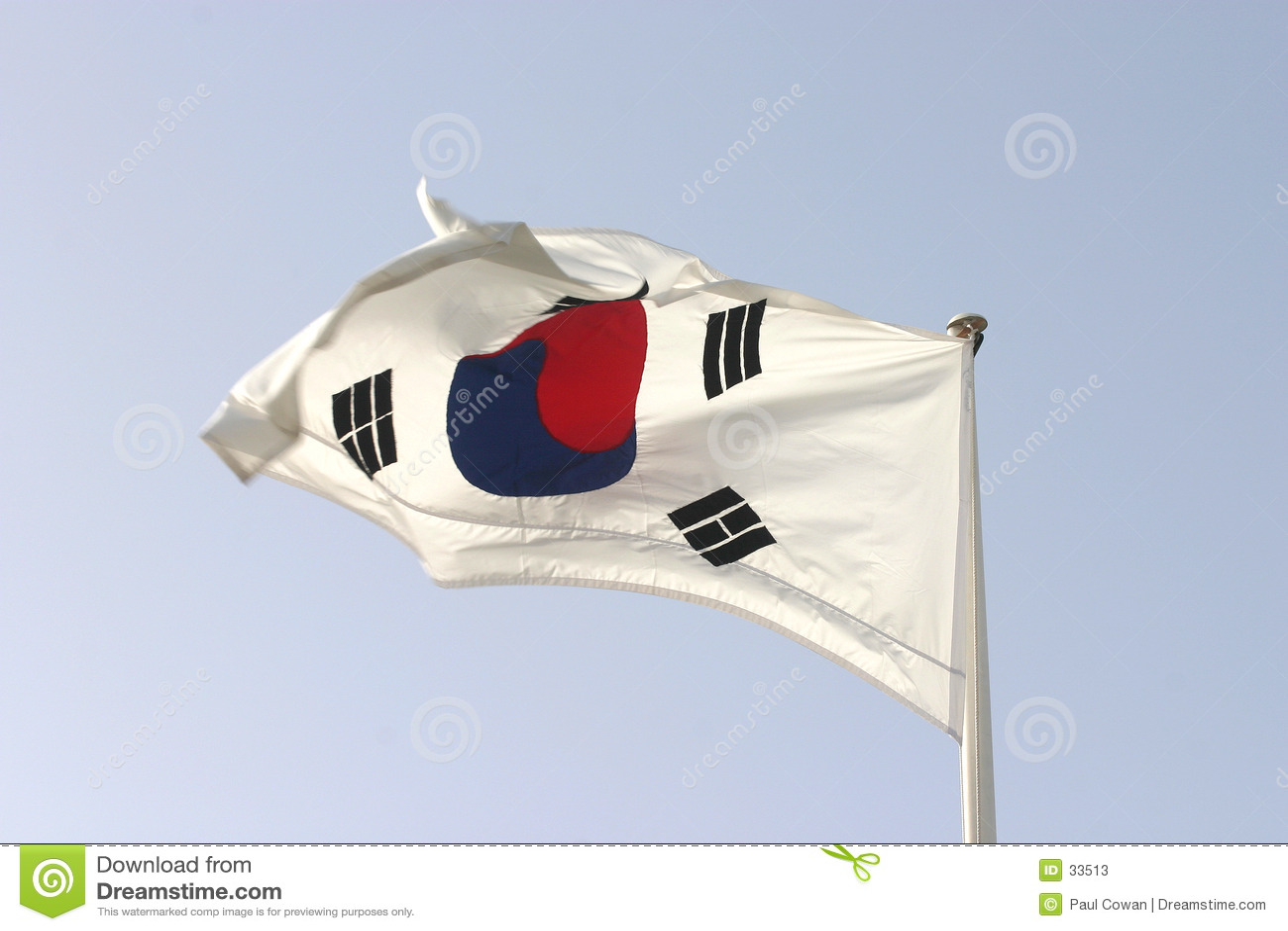 Bandierina sudcoreana
