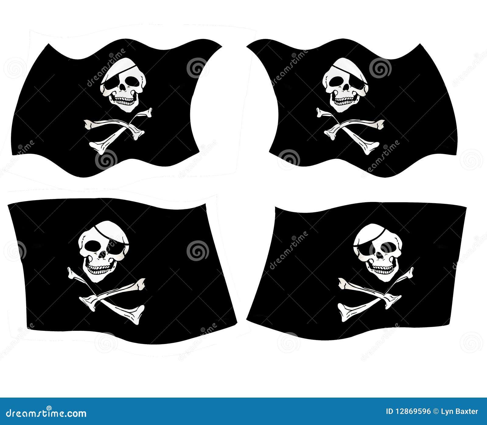 Bandierine di pirata