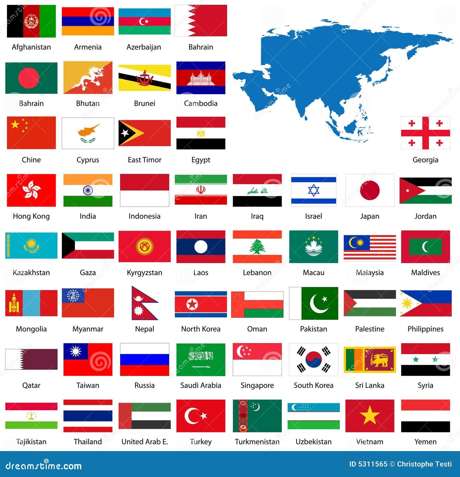 Download Bandierine E Programma Asiatici Dettagliati Illustrazione Vettoriale - Illustrazione di bangladesh, emblema: 5311565