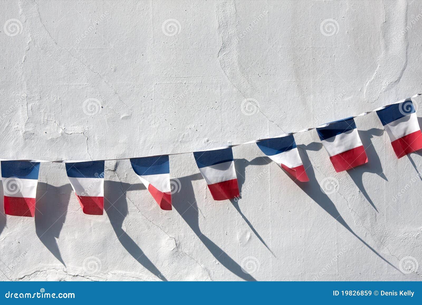 Bandierine francesi