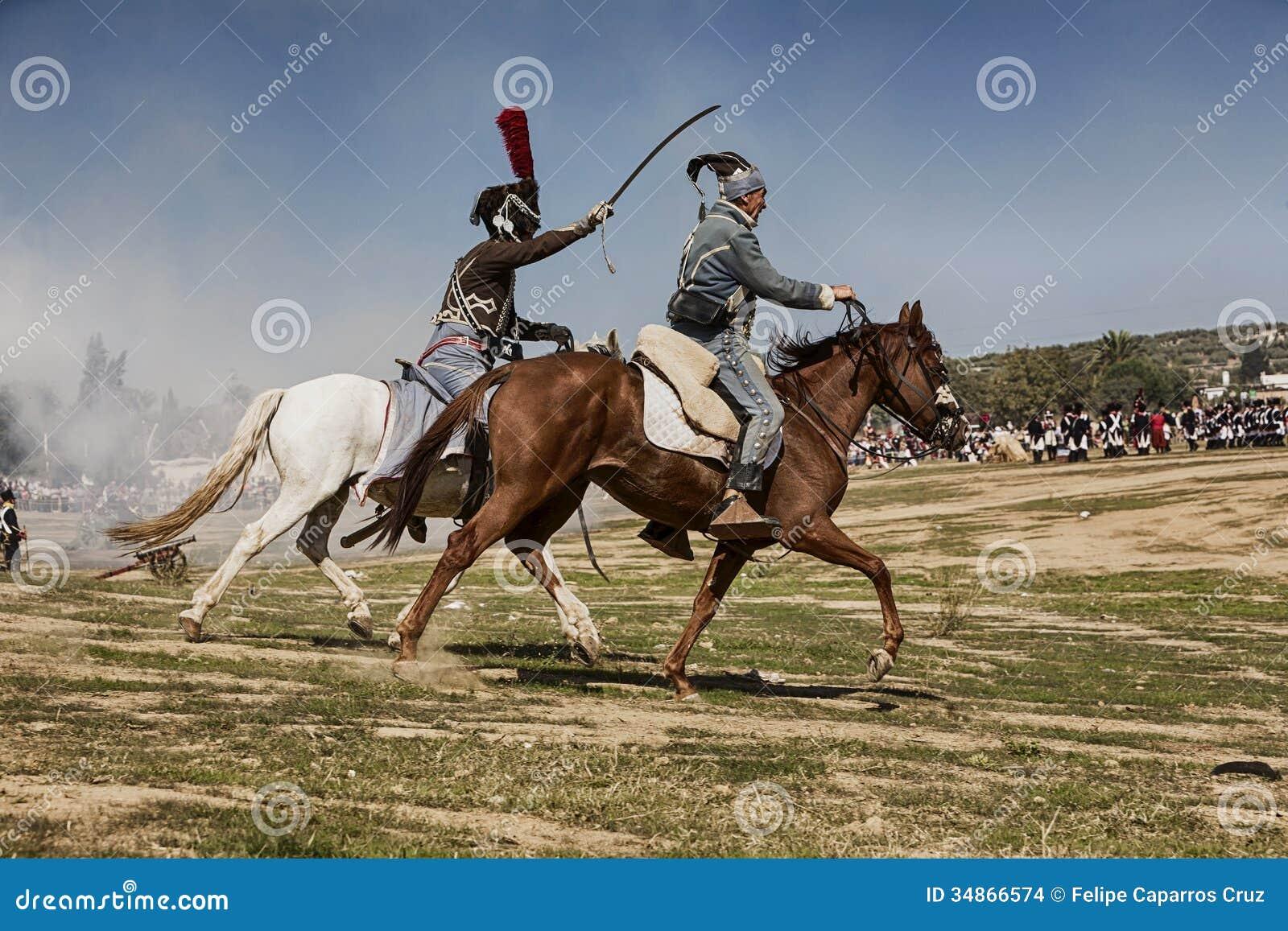 Bandiet in de herdenking van de slag van Bailen