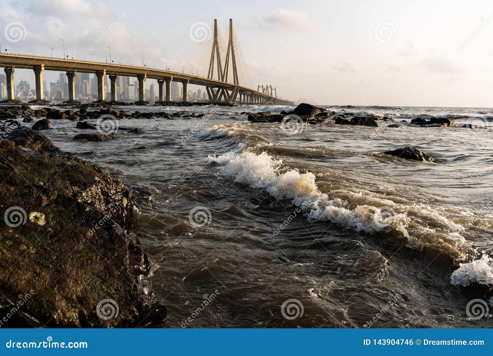 Bandra - Worli Sea Link.