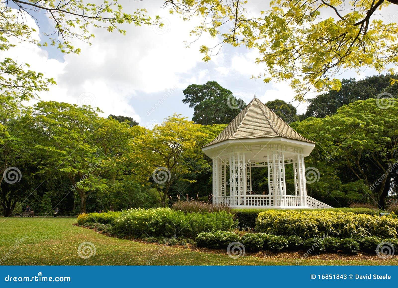 The Bandstand stock image  Image of performance, botanic