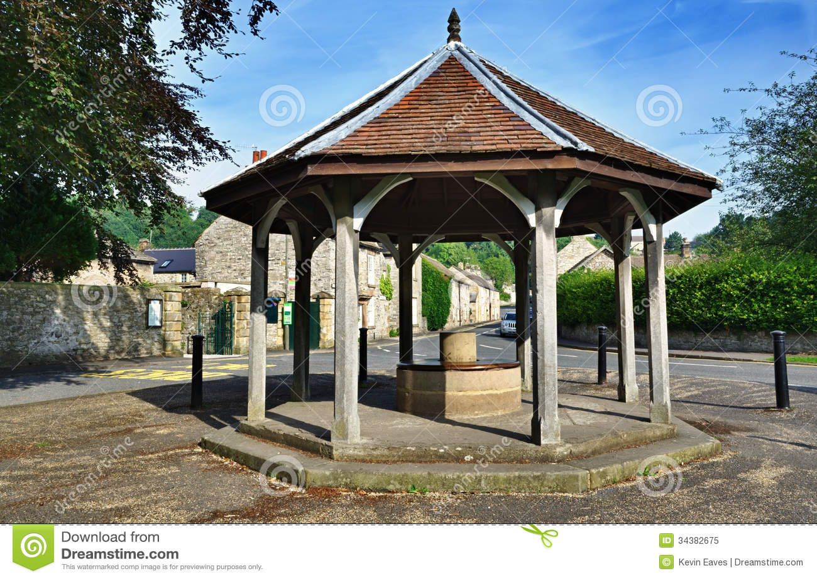 Bandstand w wodzie, Derbyshire