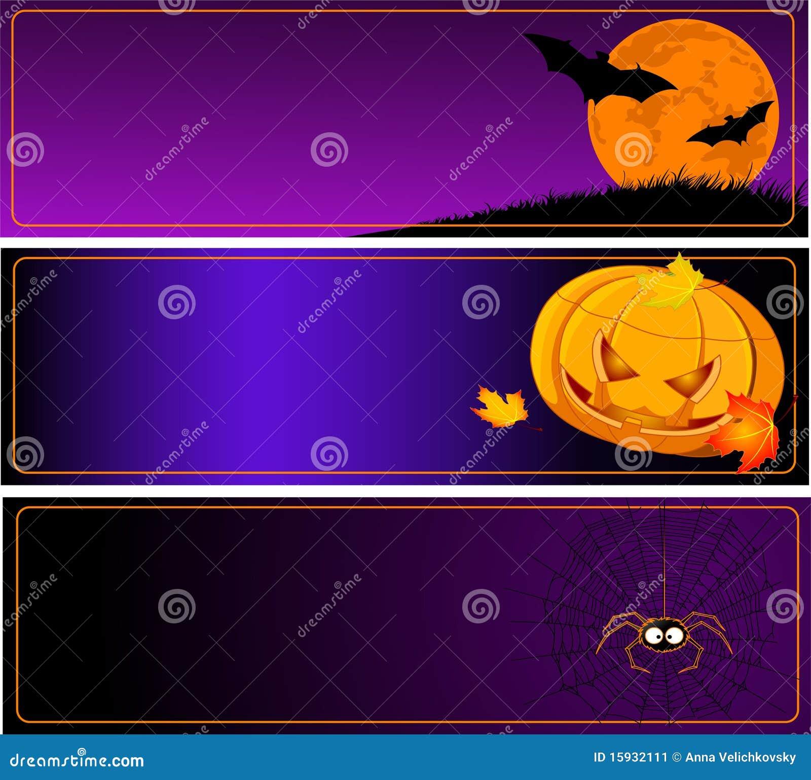 Baner halloween