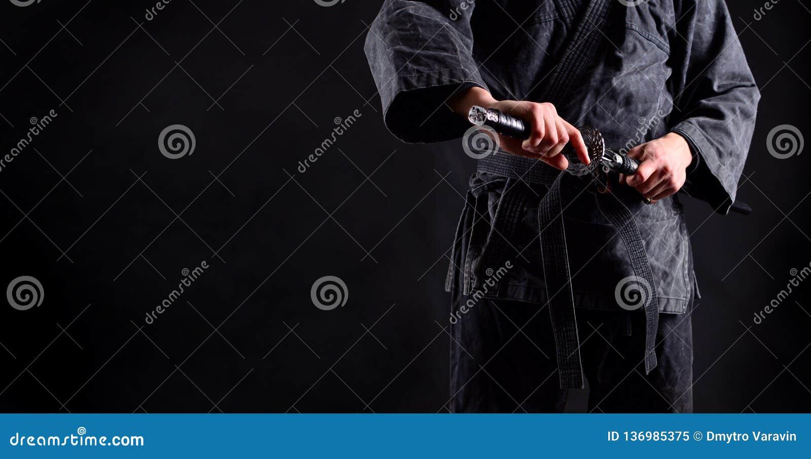 Baner med ninjaen, samuraj