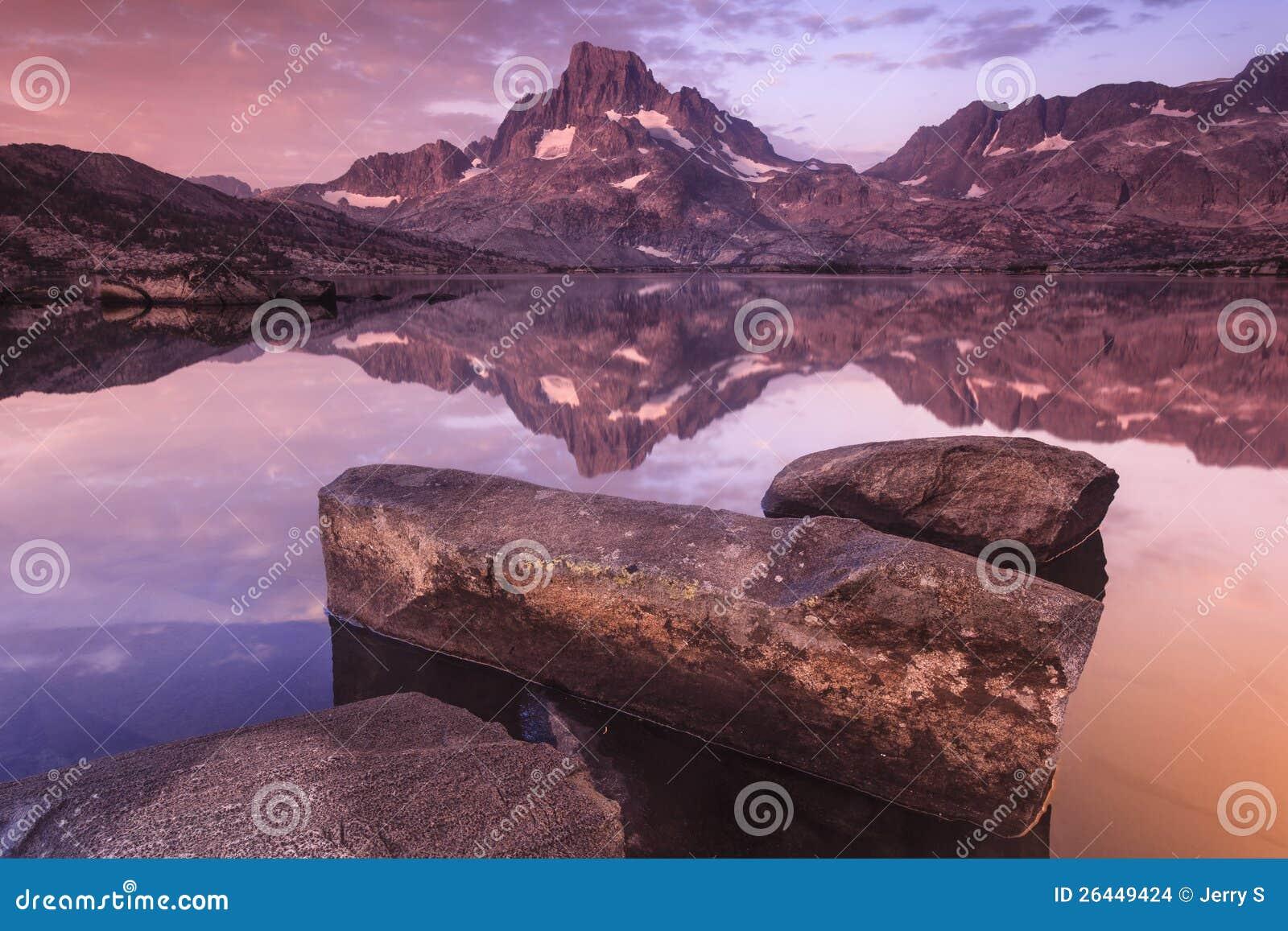 Banermaximum på tusen ö Lakes