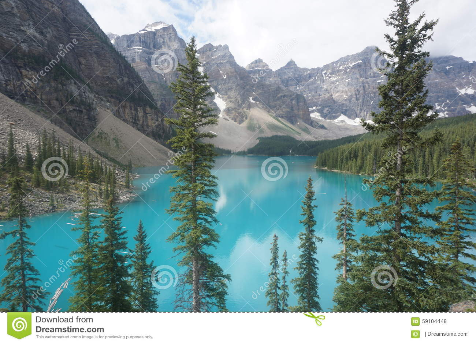 Banff湖冰碛国家公园