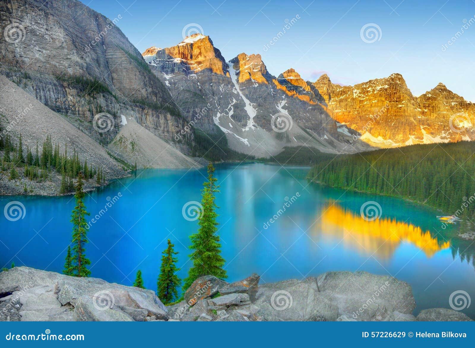 Banff Nationaal Park, Morenemeer