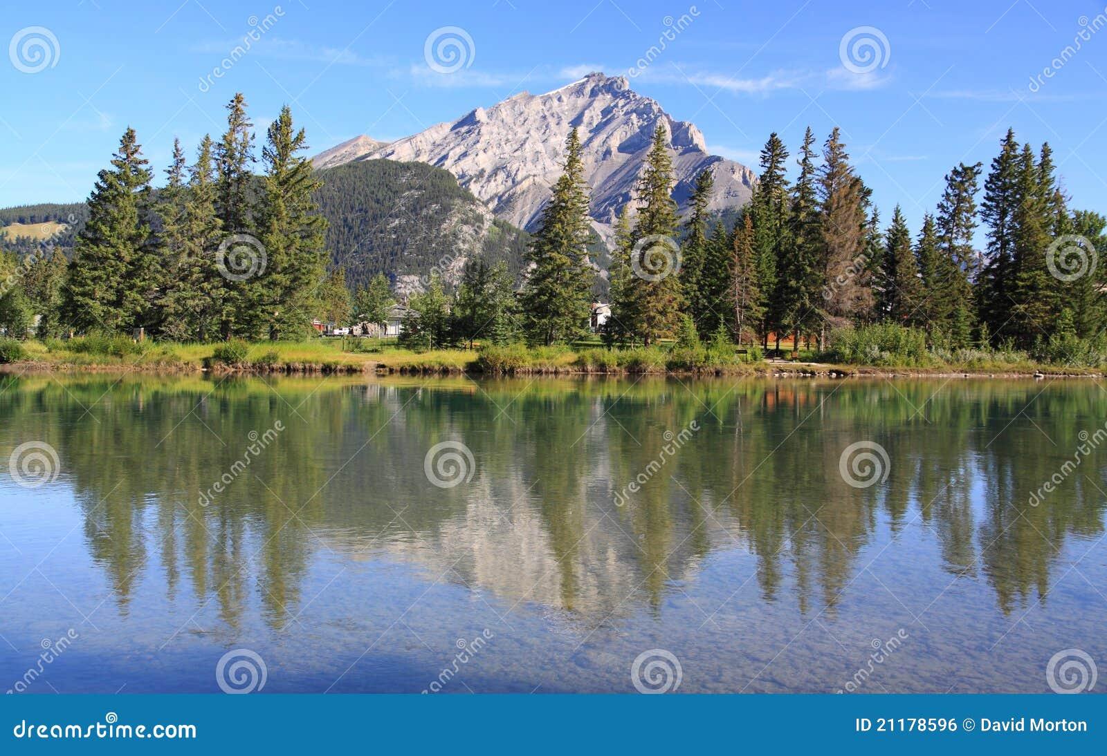 Banff - river bow