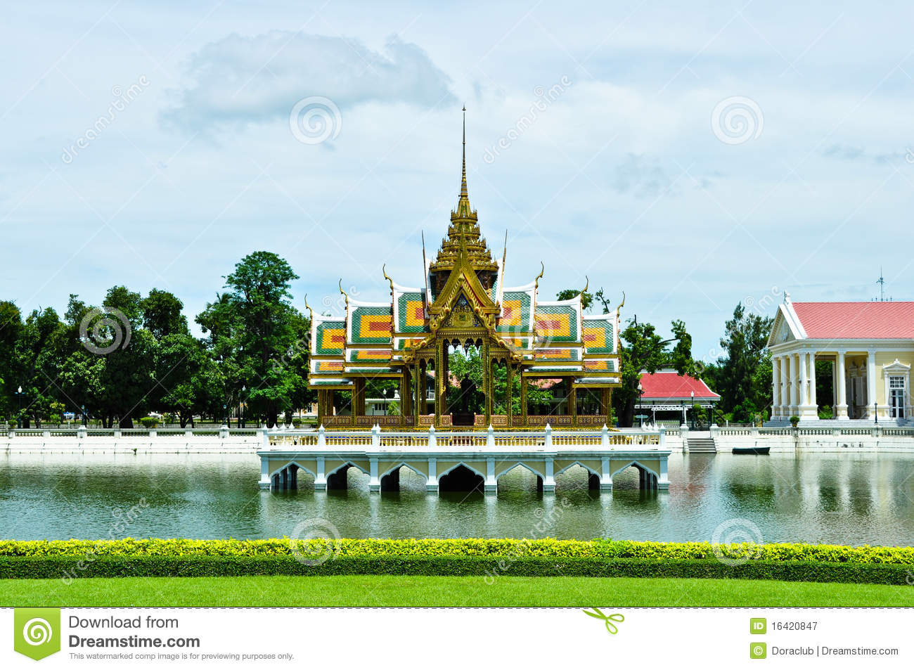 Bang Pa-In Palace , Thailand Royalty Free Stock ...