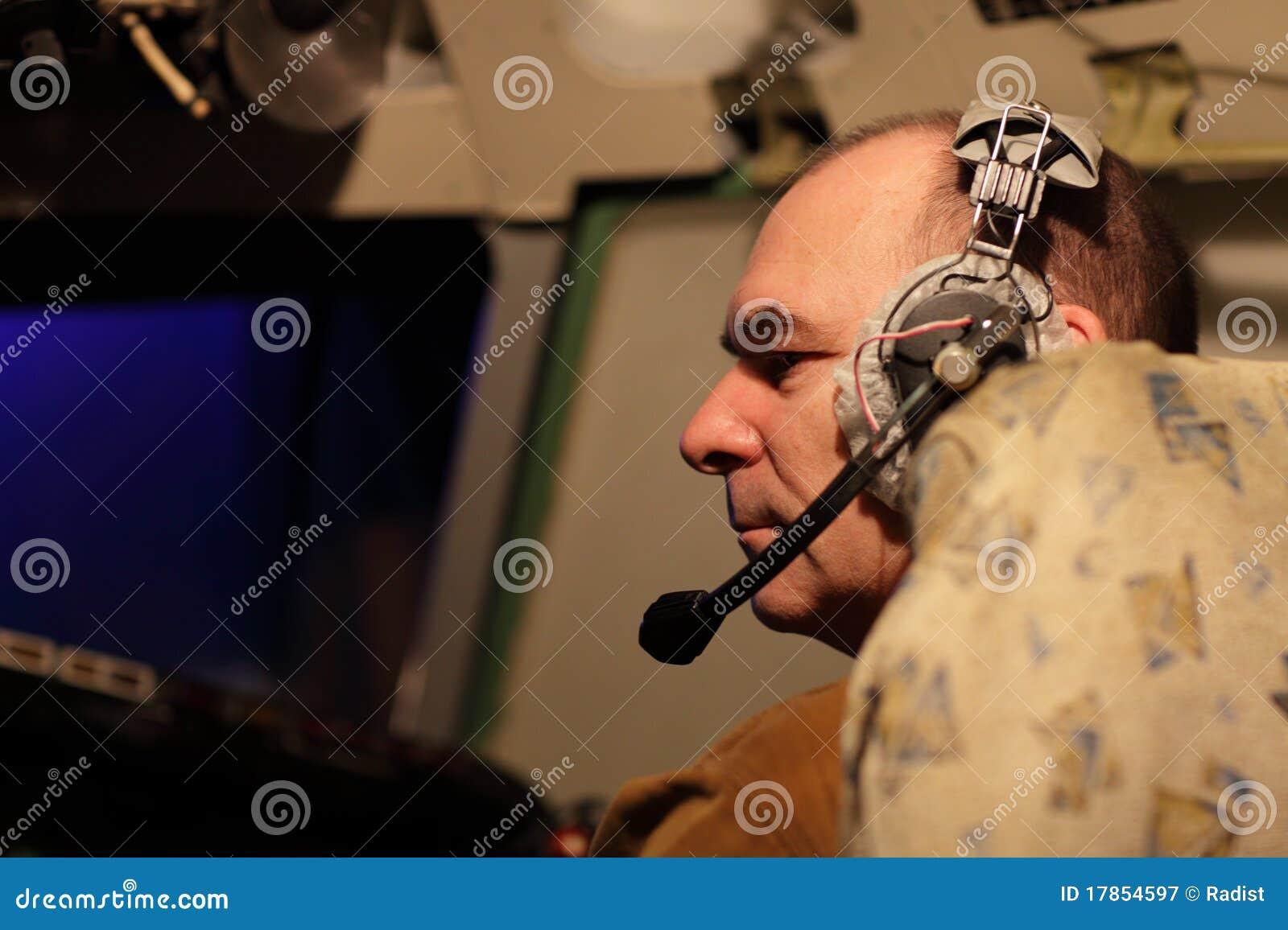 Banghörlurar med mikrofonpilot